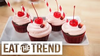 Dr Pepper Cupcakes | Eat the Trend