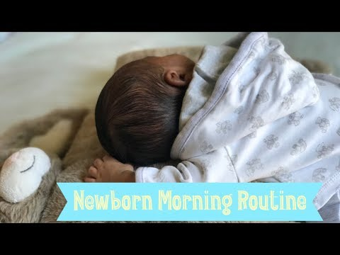 NEWBORN MORNING ROUTINE   FIRST TIME MOM