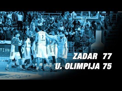 ZD TV I Zadar - Union Olimpija 77:75 ᴴᴰ