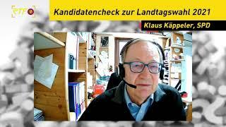 Landtagskandidaten - Kurzcheck: Klaus Käppeler, SPD