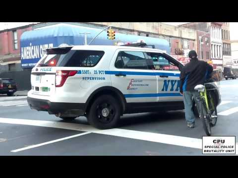25Pct NYPD Continue to Target Latin/Immigrant Bike Delivery Workers in Harlem