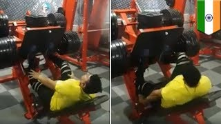 Leg Press Gym injury(Fatal)||Avoid 2 mistakes on Leg press||Shocking Reactions from People