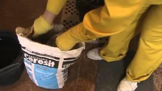 Приготовление раствора из сухой смеси СМ - 11