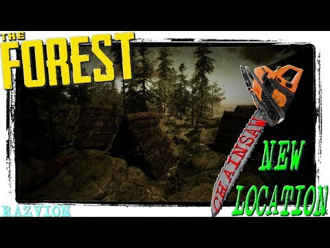 HOW TO FIND THE CHAINSAW NEW LOCATION | The Forest Alpha 0.73