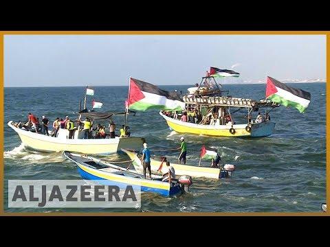 🇵🇸 🇮🇱 Gaza fishermen stage protest over Israeli blockade | Al Jazeera English