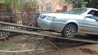 Rampa móvel para carros        esta a venda