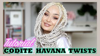 TUTORIAL CODITE | Havana / Senegalese / Jumbo Twists Tutorial | DIY |