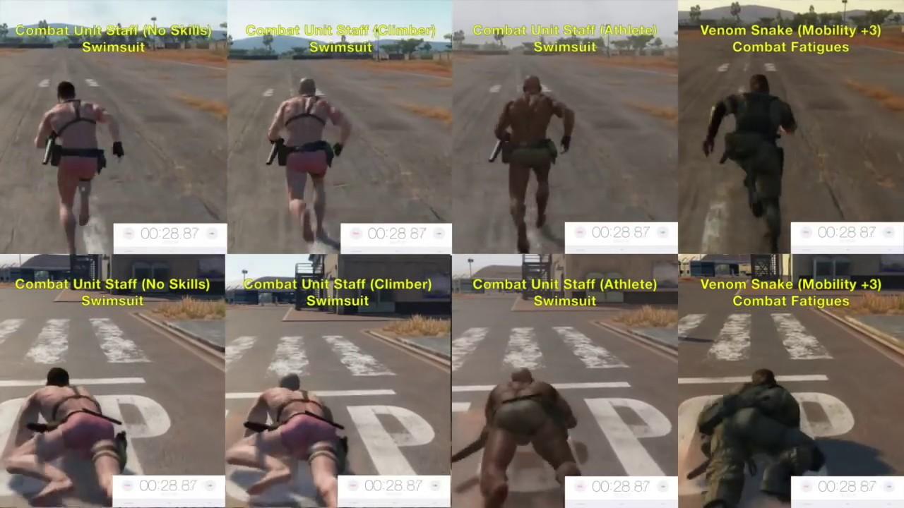 MGSV: Phantom Pain - Swimsuit Speed Secrets (Metal Gear Solid 5)