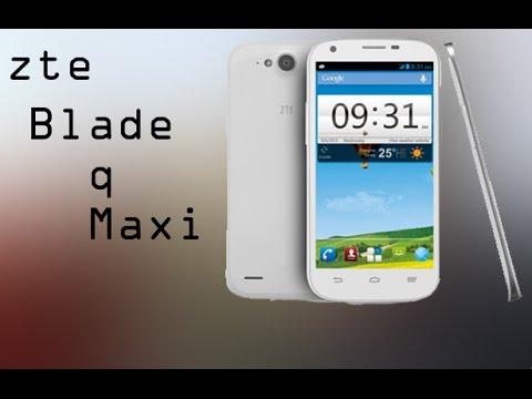dem zte blade q maxi stock rom work with