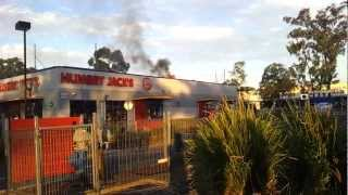 Hungry Jacks Fire Kangaroo Flat