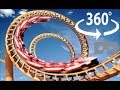 Roller Coaster 360 Virtual Reality - The