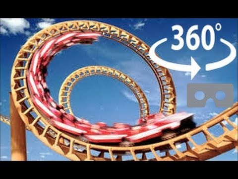 Roller Coaster 360 Virtual Reality – The X2 at Six Flags