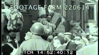 Jewish Orphans Leave Buchenwald 220614-04