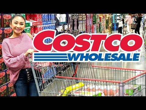 NEW COSTCO SHOP WITH ME!