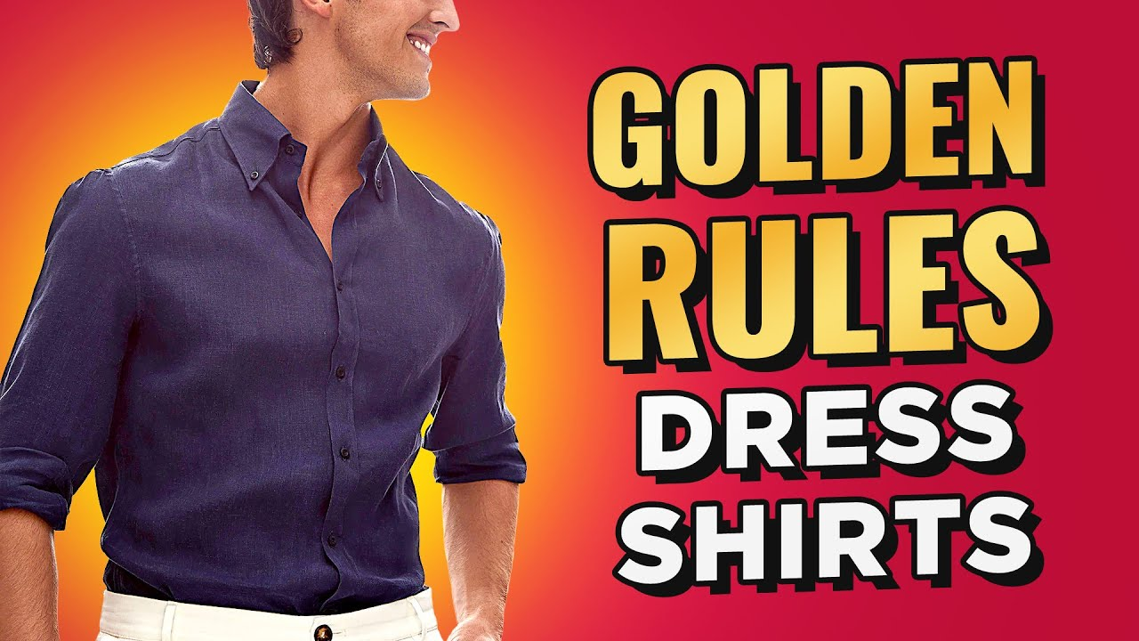 10 Golden Rules To Buying The Perfect Dress Shirt