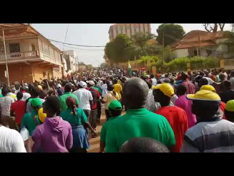 Major Protest March in Bissau 16 November 2017 -5