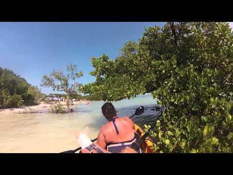 Kayaking in Anne's Beach