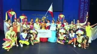 kahayag dance company philippines grand champion iyf 2015 world cultural dance festival