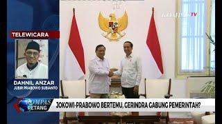Jokowi-Prabowo Bertemu, Gerindra Segera Gabung Pemerintah?