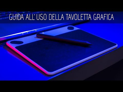 Guida Pratica Per TAVOLETTA GRAFICA ( In Fotografia)