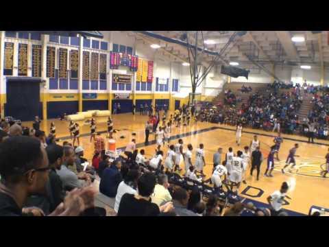 Thornton vs. Thornwood 1/15/16 - Curtis Dilworth 18 pts