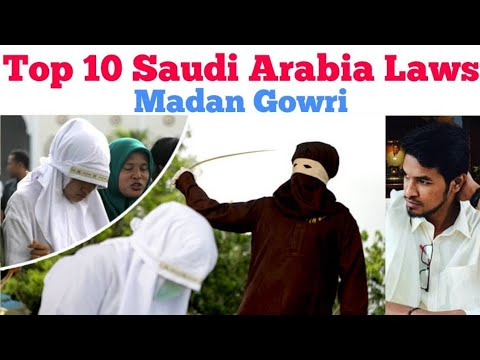 Top 10 Saudi Arabia Laws | Tamil | Madan Gowri | MG