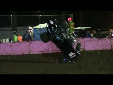 Linda's Speedway 2017 Thrills and Spills Flips Crashes