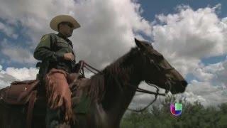 La realidad de la patrulla fronteriza montada de McCallen, Texas - Noticiero Univisión