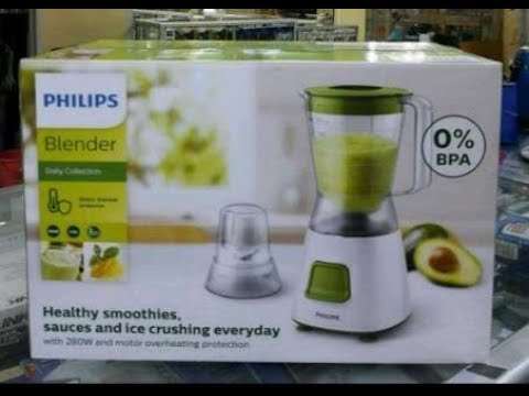 Unboxing Blender Philips Hr 2056 2057 Indonesia Youtube