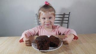 ✅Маленький поваренок/ Кекс в микроволновке за 5 минут