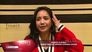 INSERT - Nagita Slavina Deg-Degan Akan Tampil Bersama Marcel Siahaan