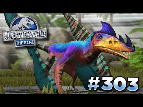 Maxing Up Eudimorphodon! || Jurassic World - The Game - Ep303 HD