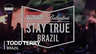 Todd Terry Boiler Room x Ballantine's Stay True Brazil DJ Set