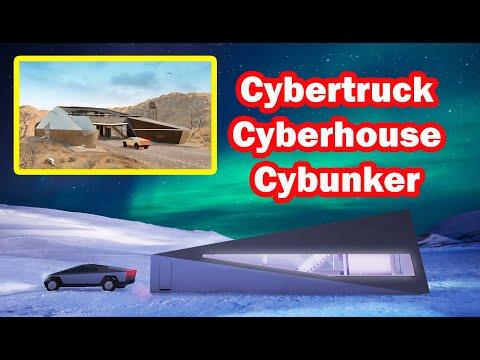 Cybertruck inspira a Cyberhouse e o Cybunker - MTED