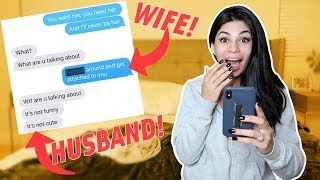 LYRIC PRANK ON HUSBAND DURING AN ARGUMENT!