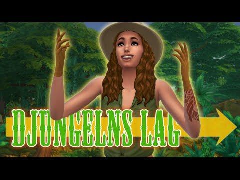 The Sims 4 DJUNGELNS LAG - Del 6: Artefakter och dansdejt