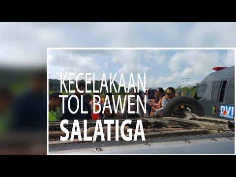 NET JATENG - KECELAKAAN TOL BAWEN SALATIGA