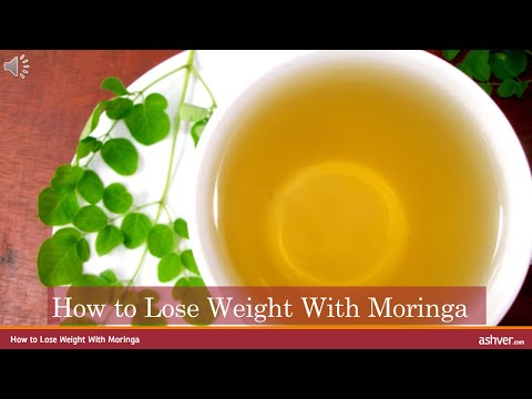 How to Lose Weight with Moringa