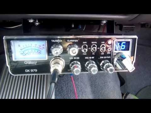 Long Distance Direct CB Citizen Band Radio Contacts 50+ Mile Ranges With A Galaxy DX 979