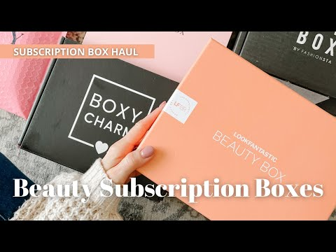 Subscription Box Haul: