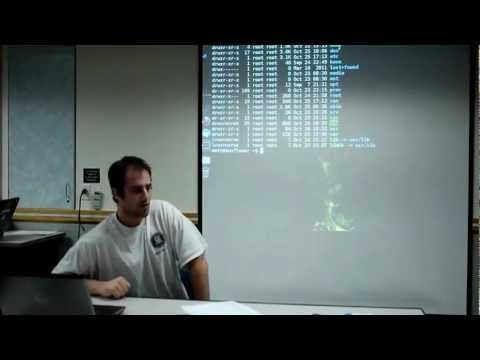 CU - AGSO - Introduction To Linux - Session 1 - Part 5 - The File System