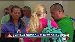 Allegiant Air cancels some Florida flights