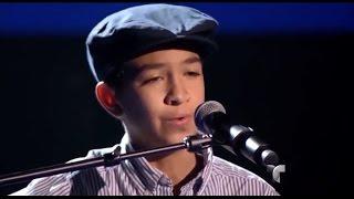 """Hugo canta """"Nada es para siempre"""" en """"La Voz Kids"""""""