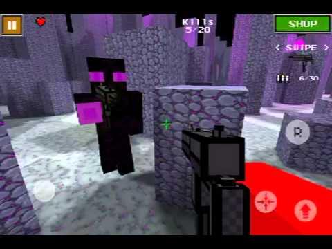 pixel gun 3d multiplayer battle youtube