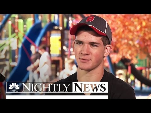 Inspired by Disabled Brother, Michigan Teen Builds Playground | NBC Nightly News