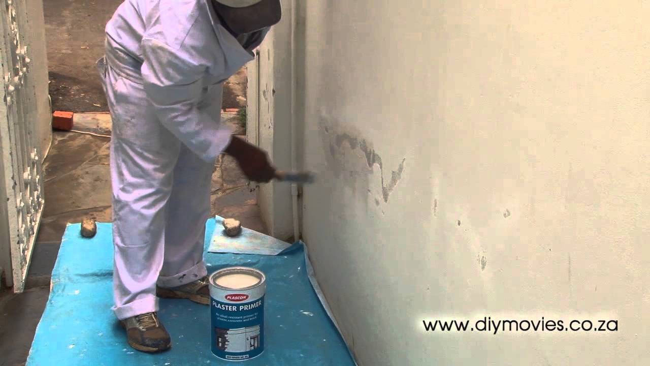 How To Repair Ling Paint On Plaster