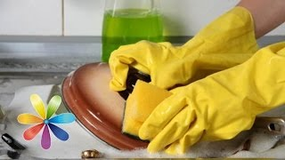 Как выбрать губку для мытья посуды - Совет от Все буде добре - Выпуск 387 - 07.05.14