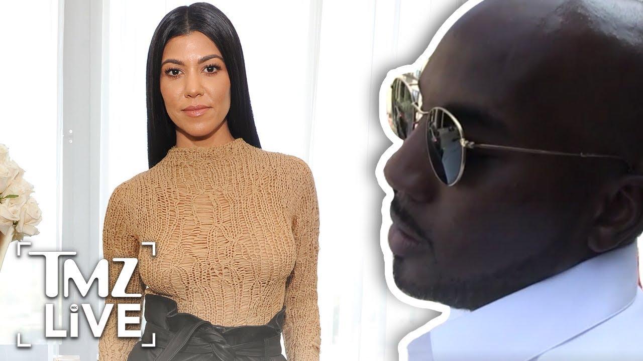 Kourtney Kardashian Looks Smoking HOT!!! | TMZ Live