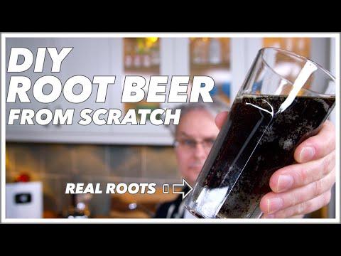 Root Beer Recipe From Scratch    Glen & Friends Cooking