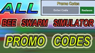 ALL *NEW* PROMO CODES - Roblox Bee swarm Simulator